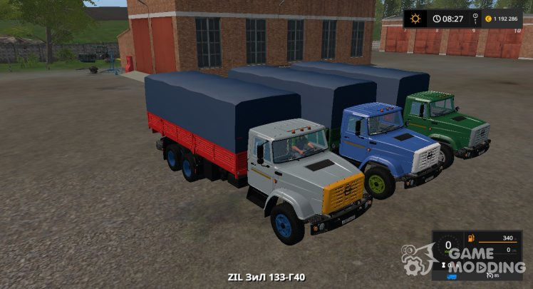 ZIL-133Г40 Gear Box version 1.0.0.1