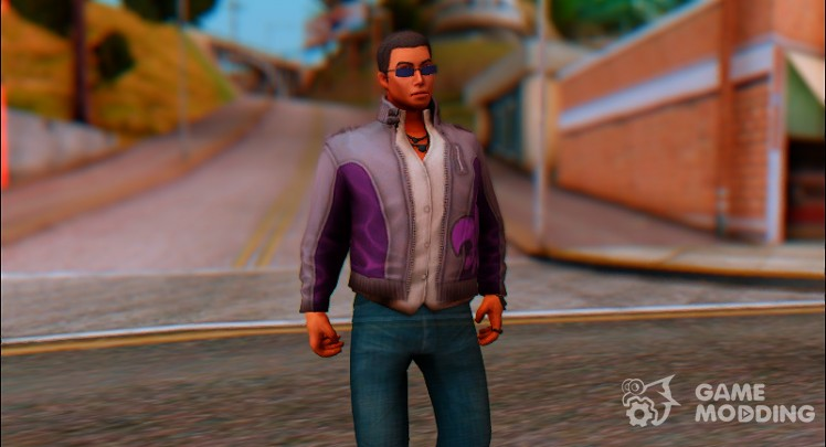 Johnny Gat From Saints Row