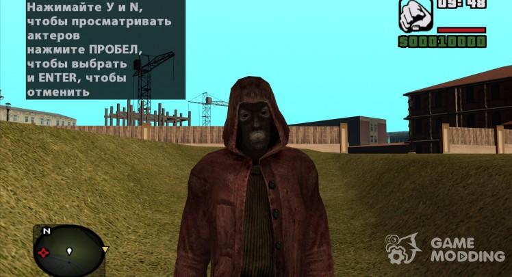 Sinner in red cloak of S. T. A. L. K. E. R v. 5