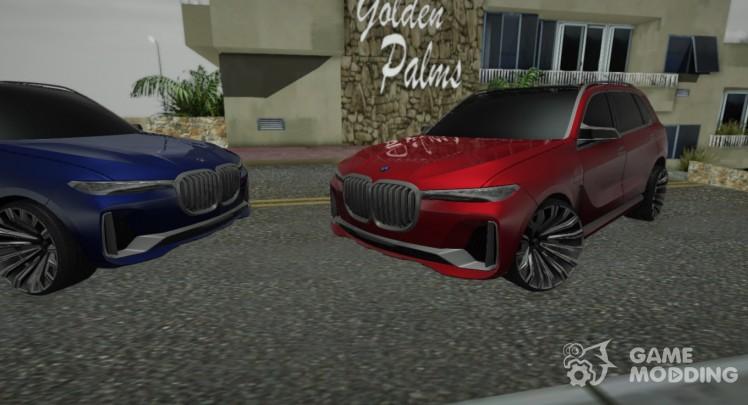 BMW X7 2017