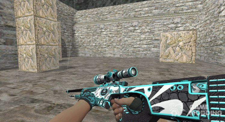 AWP Frontside Misty