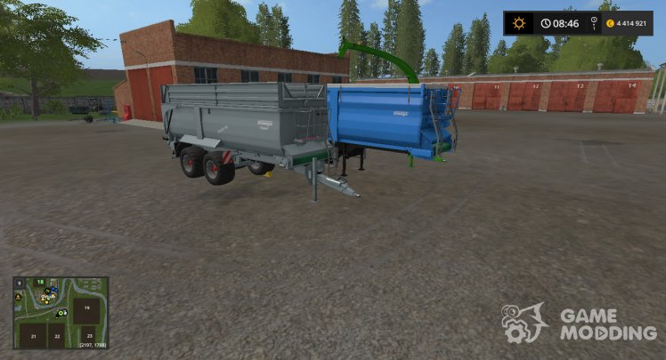 PACK of KRAMPE trailers, v1.0