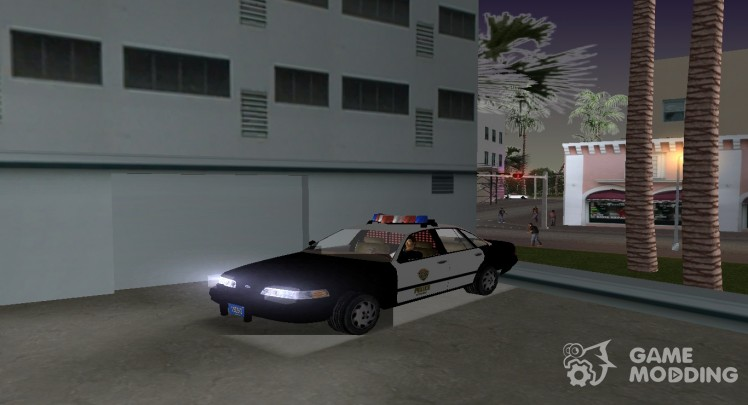 R. P. D. Ford Crown Victoria