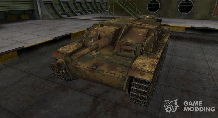 German skins for StuG III for World Of Tanks