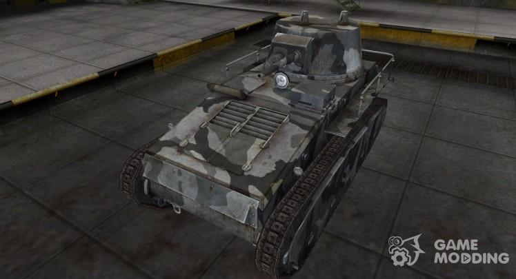Emery cloth for German tank Leichttraktor