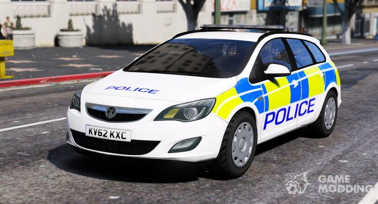 2012 Vauxhall Astra Estate Police Car Generic