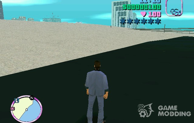 Vice City Without Water