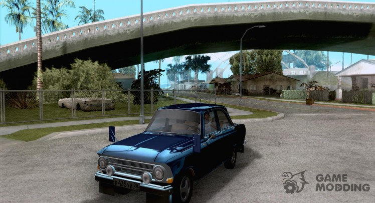 Moskvich 412 with tuning