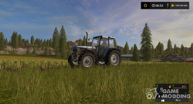 Manual ignition (Drive Control) for Farming Simulator 2017