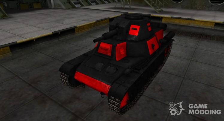 Черно-красные зоны пробития PzKpfw 38H 735 (f)