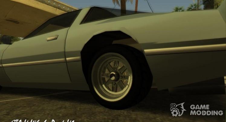 Wheels for GTA San Andreas