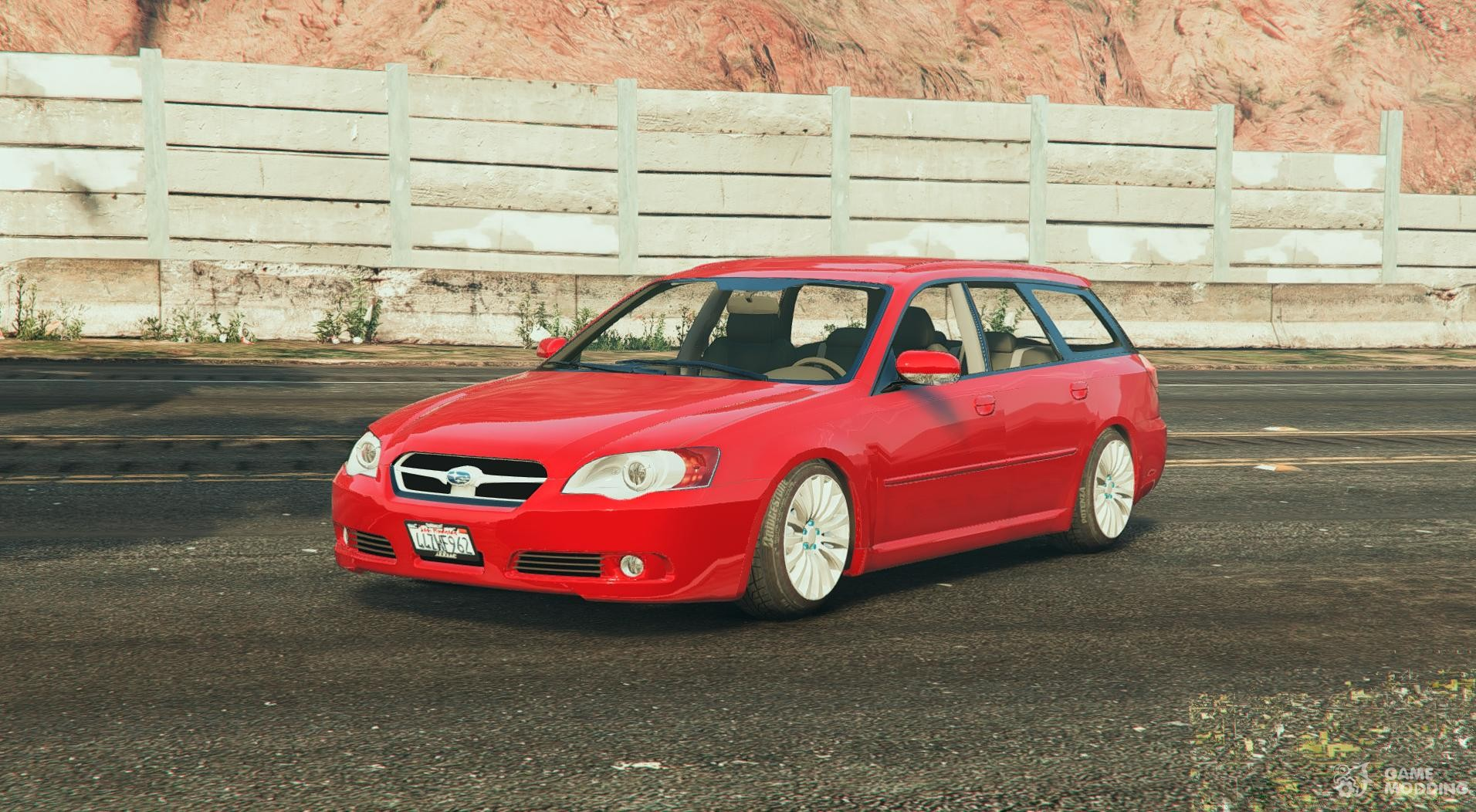 subaru legacy touring wagon bp5 0 2 for gta 5. Black Bedroom Furniture Sets. Home Design Ideas