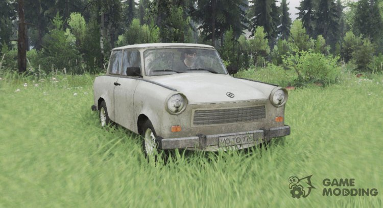 Trabant 601 for Spintires 2014