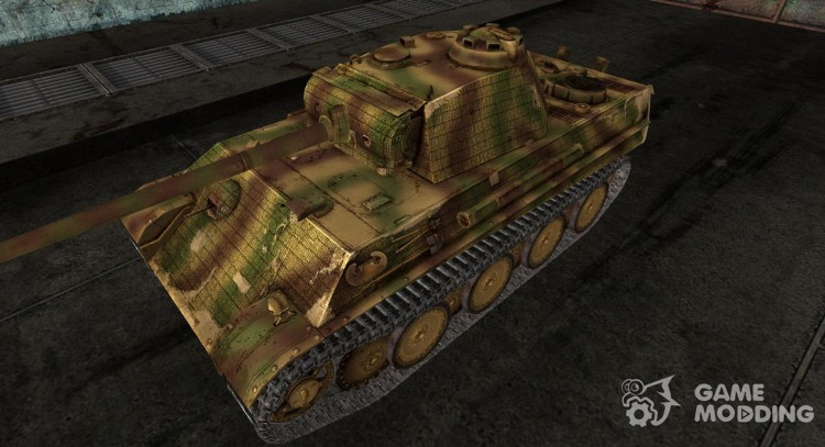 PzKpfw V Panther Hellwi для World Of Tanks