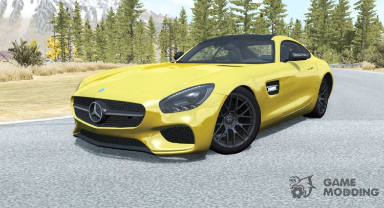Mercedes-Benz AMG GT Coupe (C190) 2014 for BeamNG.Drive