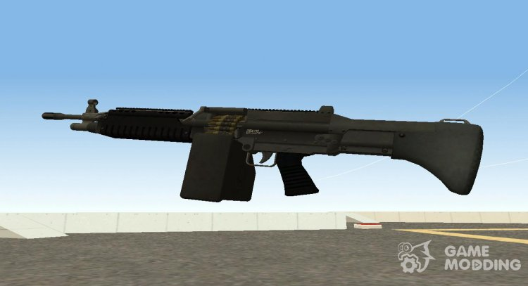 GTA V Combat MG (Extended Mag) for GTA San Andreas