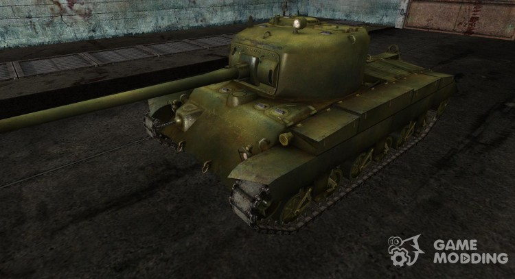 Skin for T20 army green for World Of Tanks