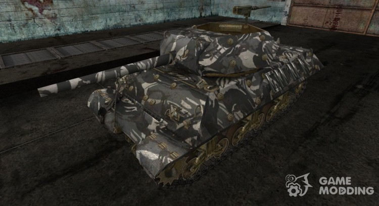Skin for M10 Wolverine # 11 for World Of Tanks