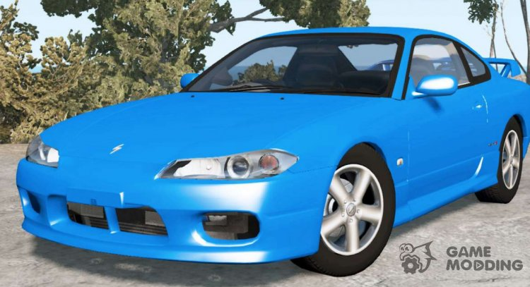 Nissan Silvia Spec-R Aero (GF-S15) 1999 for BeamNG.Drive