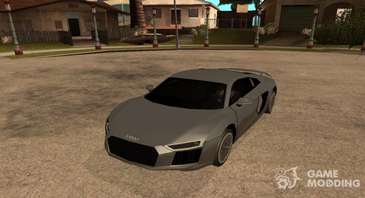 AUDI R8 V10 PLUS COUPE (SA STYLE) for GTA San Andreas