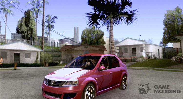 Dacia Logan Rally Dirt for GTA San Andreas