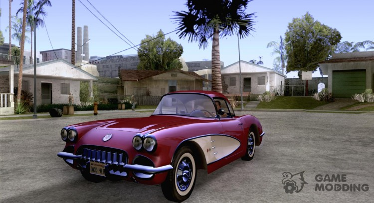 Chevrolet Corvette 1959 For Gta San Andreas