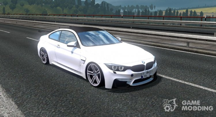 BMW M4 for Euro Truck Simulator 2