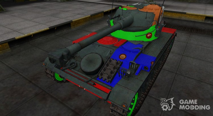 High-quality skin for AMX 13 75 for World Of Tanks