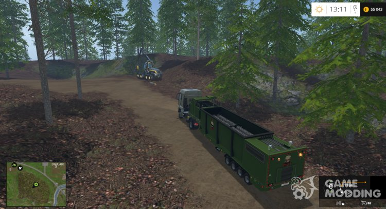 The beast heavy duty wood chippers for Farming Simulator 2015
