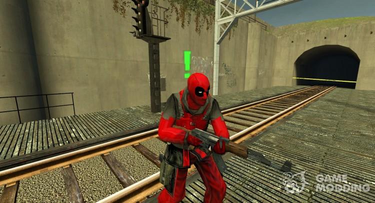 Deadpool Actualización Para Counter Strike Source
