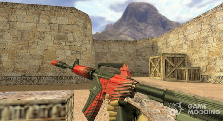 M4A1 Starladder for Counter Strike 1.6