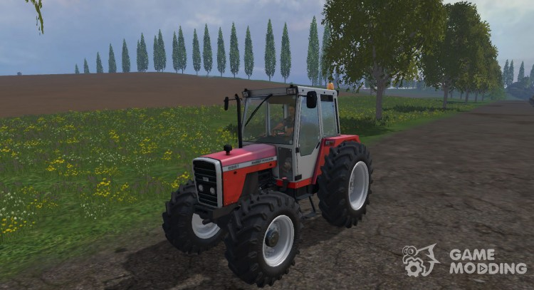 Massey Ferguson 698T для Farming Simulator 2015