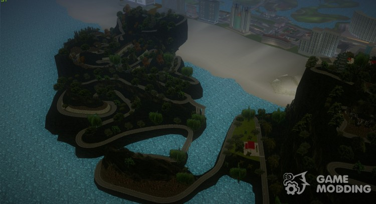 HJP Hill Mod for GTA Vice City