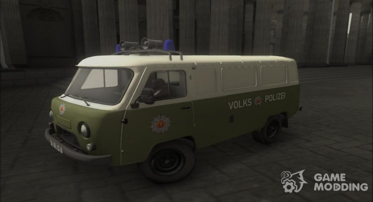 UAZ-452 Police of the GDR for GTA San Andreas