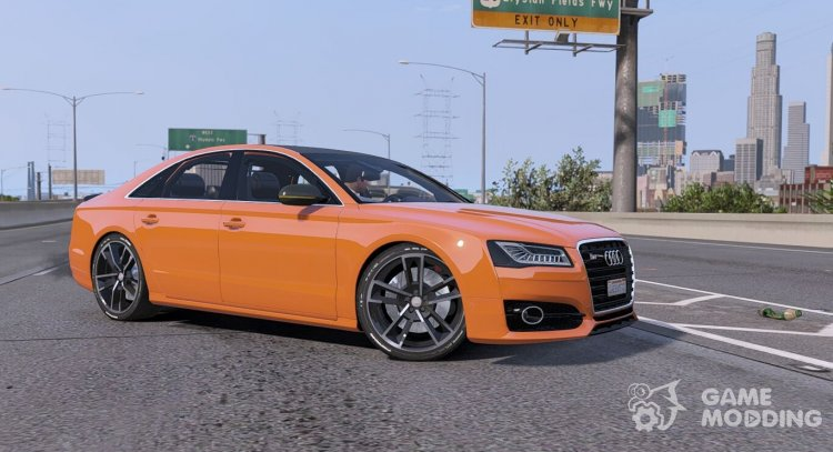 2016 Audi S8 plus for GTA 5