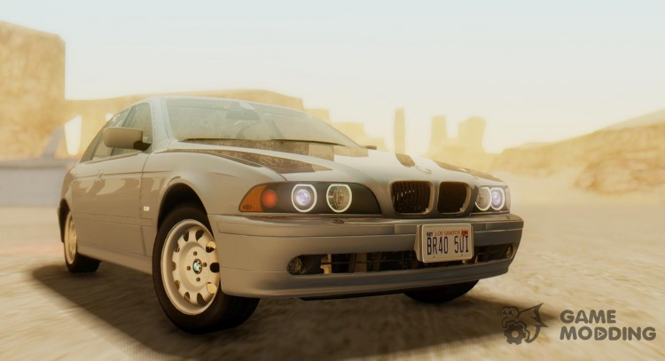 BMW 5-Series e39 525i 2001 (US-Spec) for GTA San Andreas