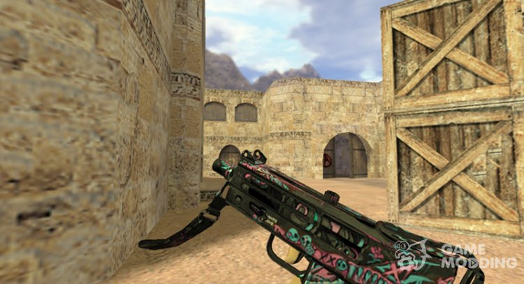 MAC-10 Crazy for Counter Strike 1.6