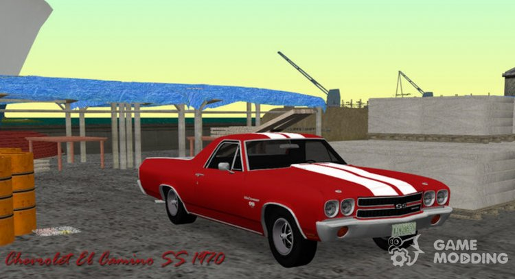 Chevrolet El Camino SS 1970 for GTA Vice City