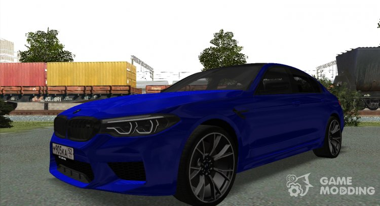 Bmw M5 F90 2019 Competition For Gta San Andreas
