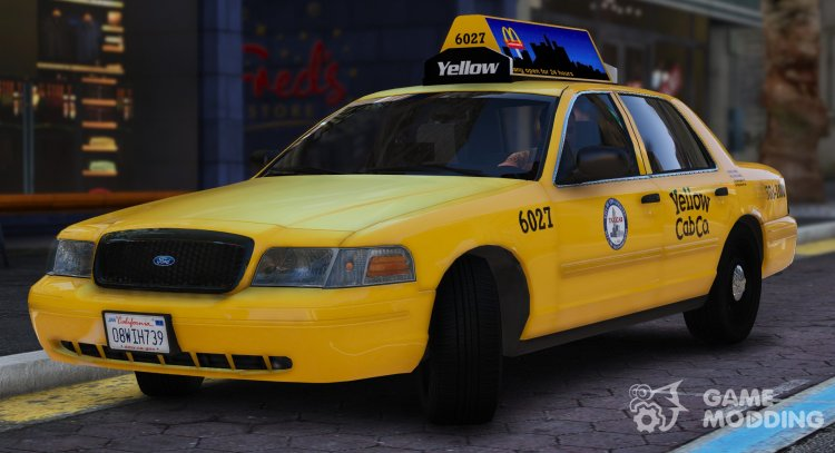 2011 Ford Crown Victoria LA Taxi for GTA 5