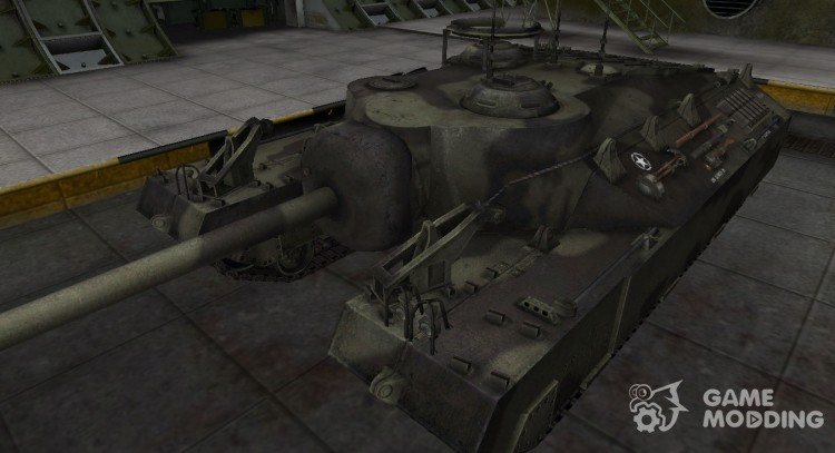 Historical camouflage T95 for World Of Tanks