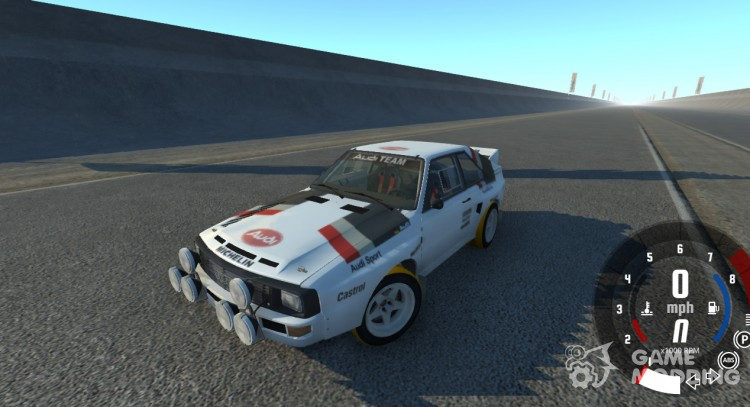 Audi Sport Quattro B2 1984 for BeamNG.Drive