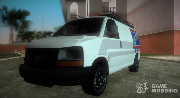 GMC Savanna Top Fun for GTA Vice City