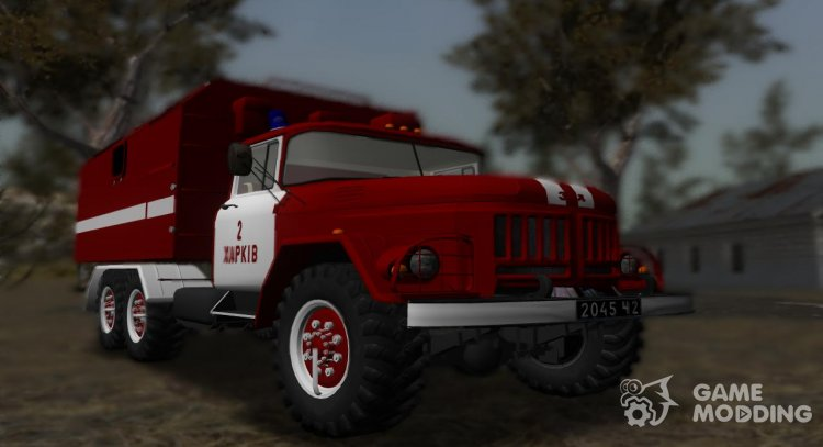 ZIL-131 Fire Kung for GTA San Andreas