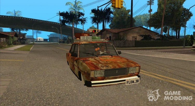 VAZ 2107 Rusty Gringo for GTA San Andreas