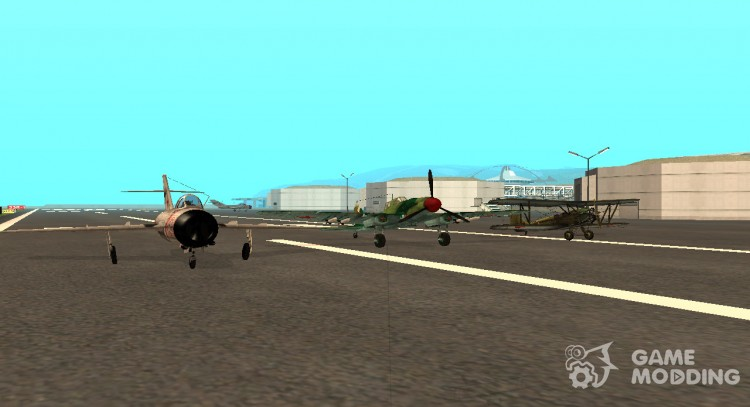 Pak domestic planes for GTA San Andreas