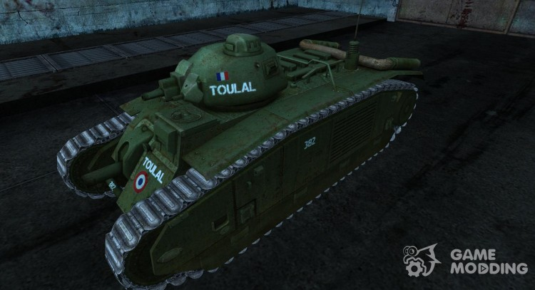 Skin for B1 for World Of Tanks