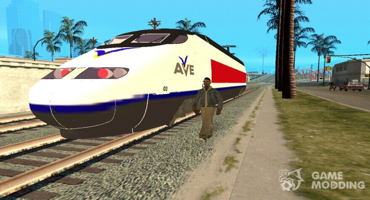 Pack trains of Gama-mod-76 for GTA San Andreas