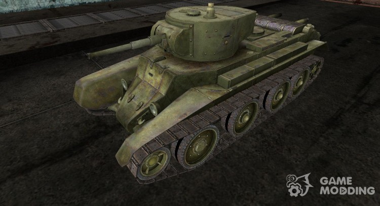 Skin for BT-7 for World Of Tanks