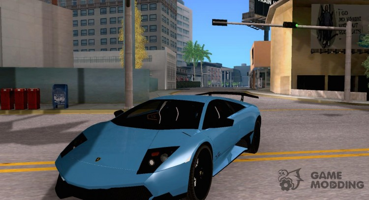 Lamborghini Murcielago LP 670-4 SV for GTA San Andreas